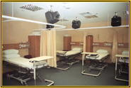 hospital bedscreen system